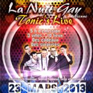 La nuit Gay 13 Radio G!
