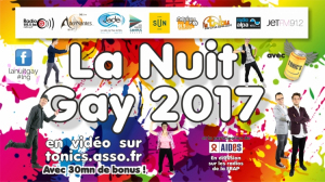 La nuit Gay 17 Radio G!